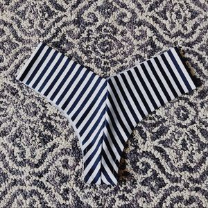 Other - Seamless striped bikini bottoms